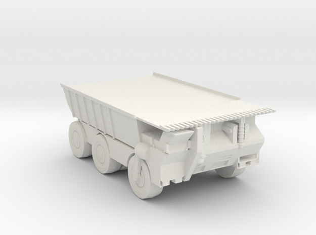 Hell truck v1 160 scale in White Natural Versatile Plastic