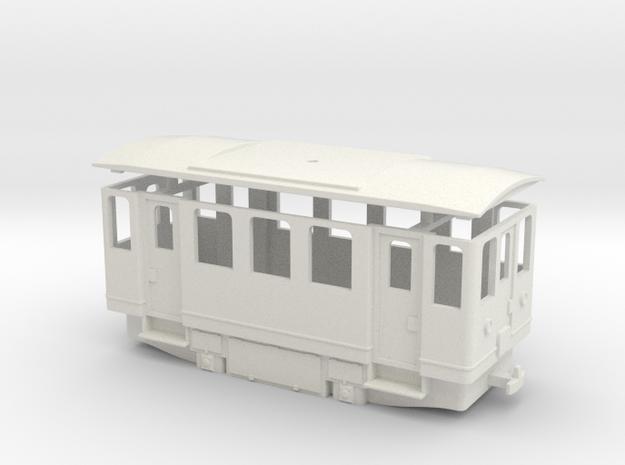 AE1s simplified electric railcar / Elettromotrice  in White Natural Versatile Plastic