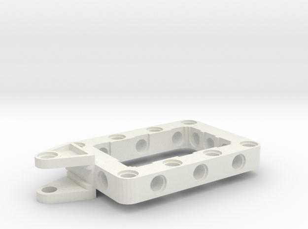 LEGO WING BRACKET in White Natural Versatile Plastic