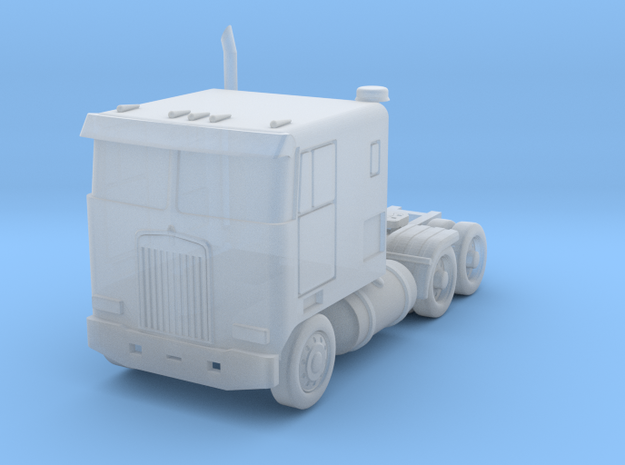 Kenworth Cabover Semi - 1:285scale in Smooth Fine Detail Plastic