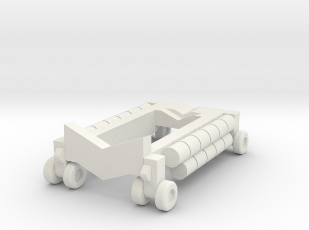 B 314 Beaching Trolley 1:220 in White Natural Versatile Plastic