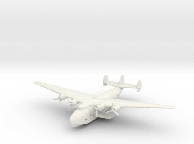 Boeing B-314 1:220 scale in White Natural Versatile Plastic