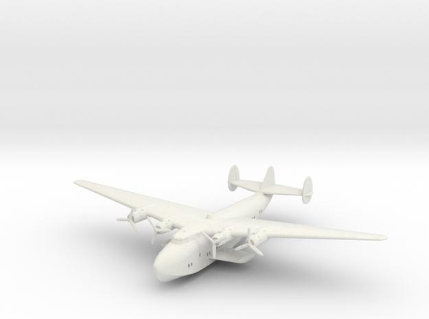 Boeing B-314 1:220 scale in White Natural Versatile Plastic