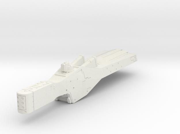 LoGH Alliance Cruiser 1:8000 in White Natural Versatile Plastic