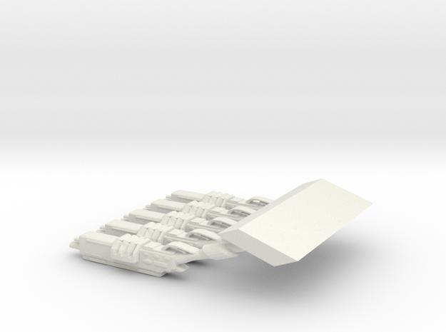 SpaceMarineSHOTGUN29 in White Natural Versatile Plastic