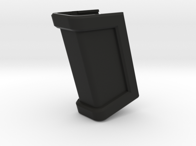 Glock 21 Magazine Grip - Long in Black Natural Versatile Plastic