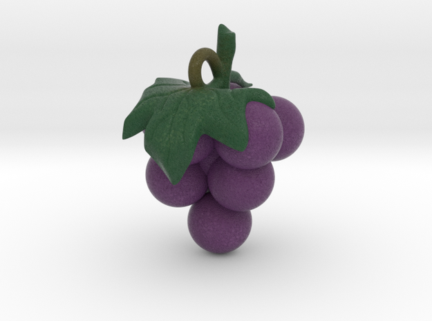 grape pendant in Natural Full Color Sandstone