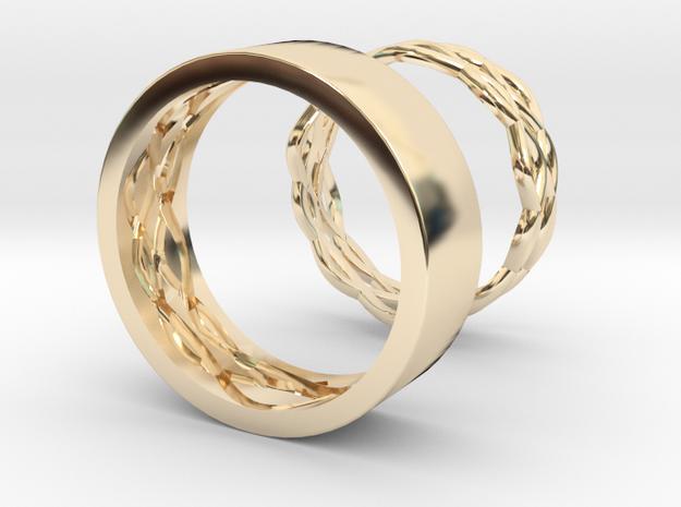 Alliances Secret Complémentaire T56 T63 in 14K Yellow Gold