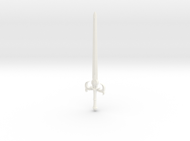 Sword Of Omens 2011 in White Processed Versatile Plastic