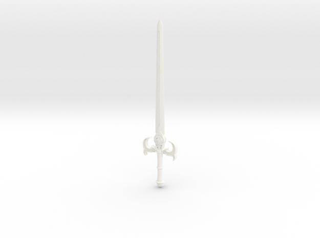 Sword Of Omens 2011 in White Processed Versatile Plastic