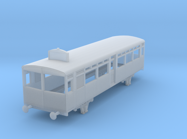 0-148fs-gwr-petrol-railcar in Smooth Fine Detail Plastic