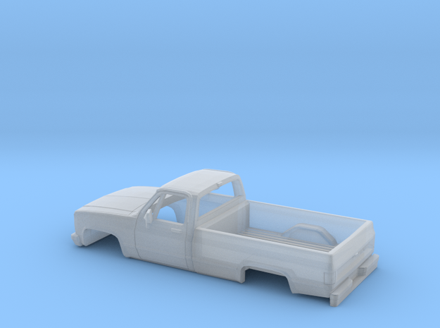 1/62 1982 Chevrolet Silverado Cab and Bed in Smooth Fine Detail Plastic