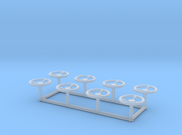 N77 HANDWHEELS 8 COUNT in Smoothest Fine Detail Plastic