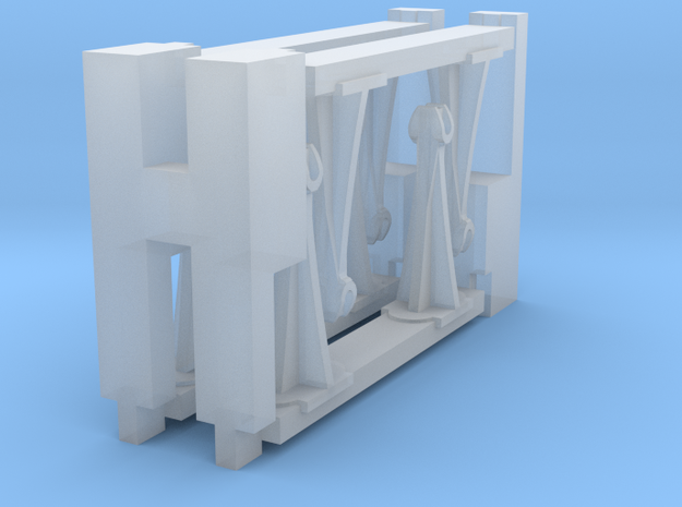 1/48 scale 8 queenposts & beams in Smoothest Fine Detail Plastic