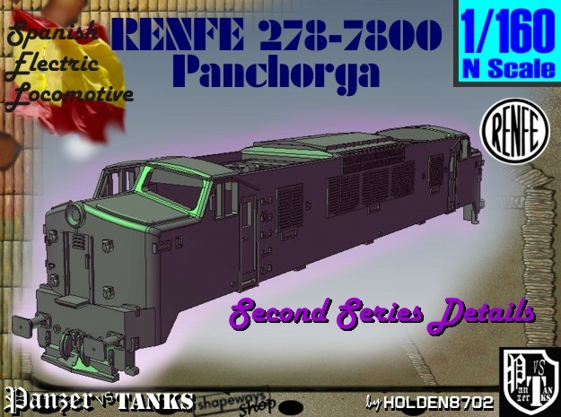 1-160 Renfe 7800 Panchorga 2nd series