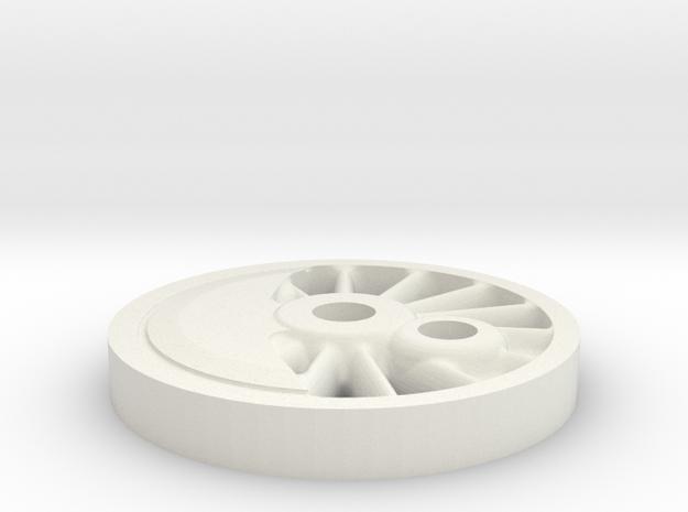 drivhjul H2-maskine H0 SLDPRT in White Natural Versatile Plastic