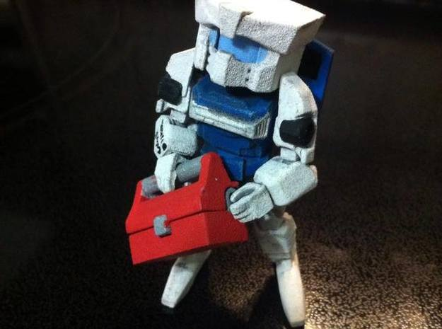MiniBot - Disposal in White Strong & Flexible