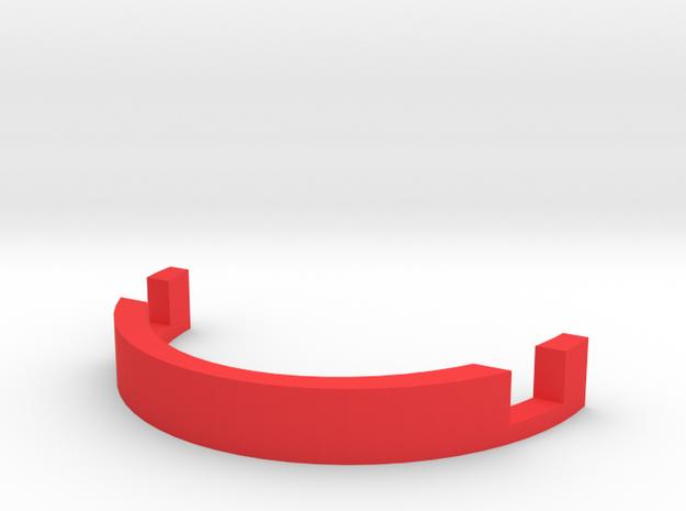 Phone Holder in Red Processed Versatile Plastic