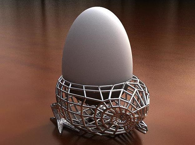 Twitter Bird Egg Holder 3d printed