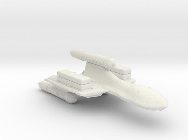 3788 Scale Romulan SparrowHawk-H Cargo Transport in White Natural Versatile Plastic