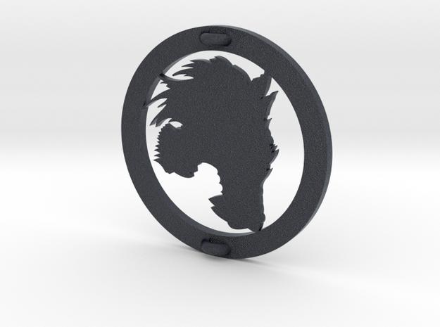 Blackwolf rangers embleem in Black Professional Plastic