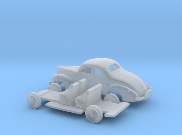 1/72 1940 Ford 8 Coupe Kit in Smooth Fine Detail Plastic