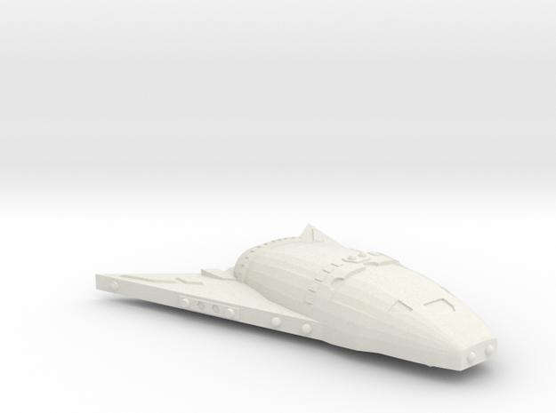 3788 Scale Hydran Demon Hunter Heavy War Destroyer in White Natural Versatile Plastic