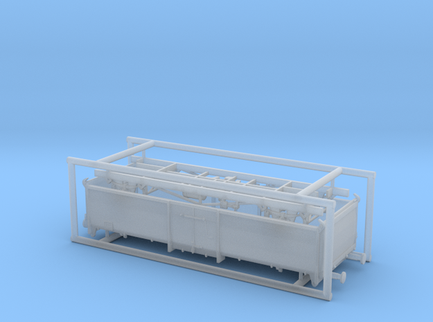 Omm 01 210 DB in Smooth Fine Detail Plastic