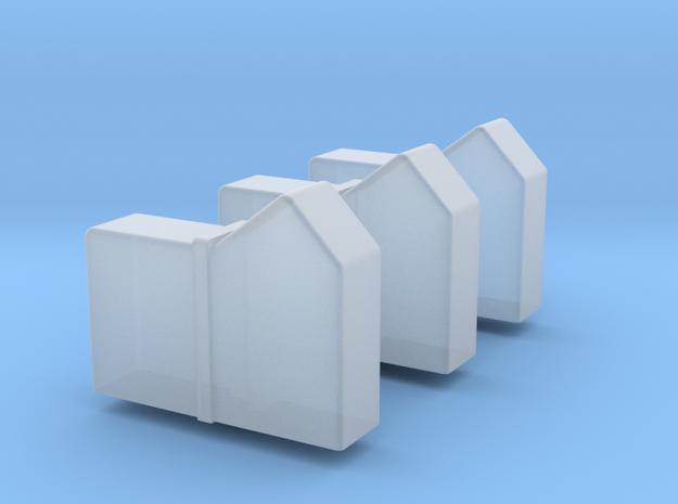 956 Reservoir's 3- pack in Smoothest Fine Detail Plastic