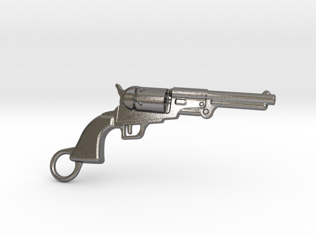 Colt Dragoon in Polished Nickel Steel
