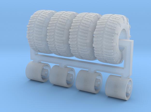 1/87 33 x 14.5 x 15 tsl swamper x 4 in Smoothest Fine Detail Plastic