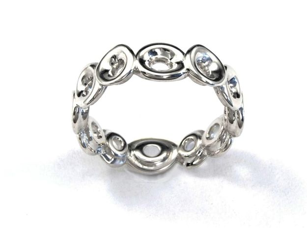 Seeside Ring (From $13) in Polished Silver: 7.25 / 54.625