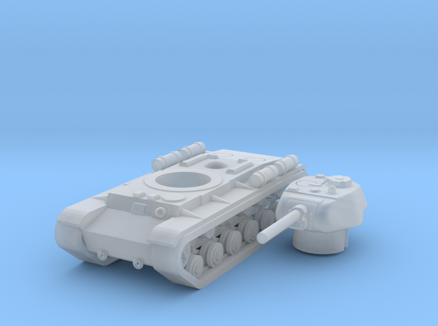 1/285 KV-1S in Smooth Fine Detail Plastic: Small