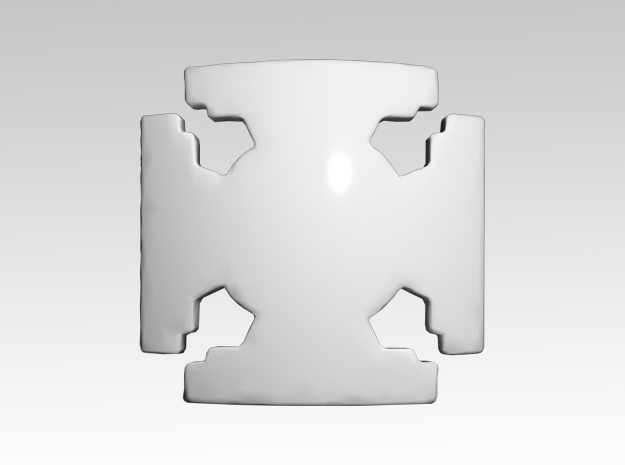 Elite Shoulder Icons x50 in Smooth Fine Detail Plastic