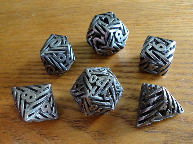 Helix Dice Set