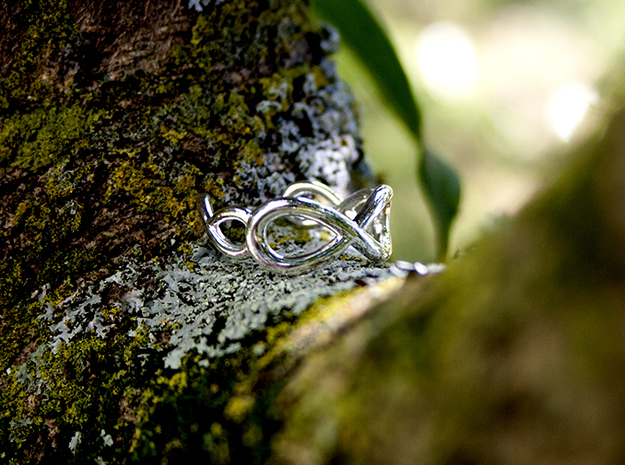 infinity in Polished Silver: 8 / 56.75
