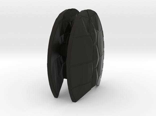Lobros Shellback Shields in Black Natural Versatile Plastic
