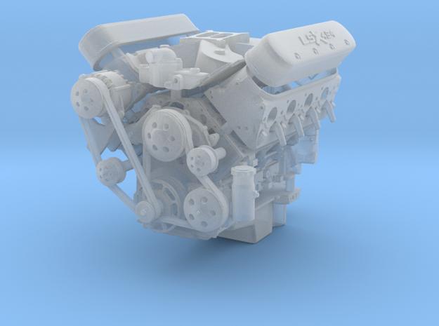 LSX/LS3 1/24 compete engine w/single 4bbl intake