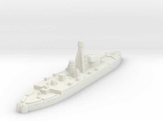 Erebus Class Monitor (UK) in White Natural Versatile Plastic