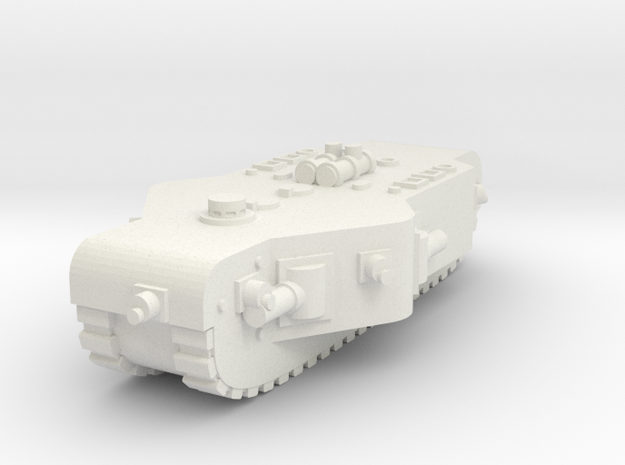 K-Wagen Super Heavy Tank (Germany) in White Natural Versatile Plastic