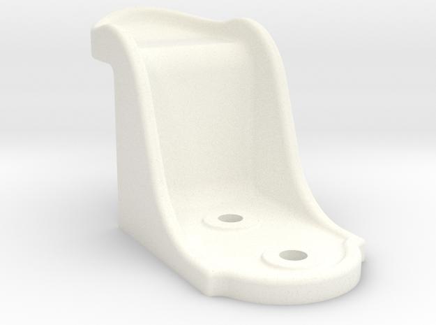 "Camel Co Side Door Stop - 2.5"" scale in White Processed Versatile Plastic"