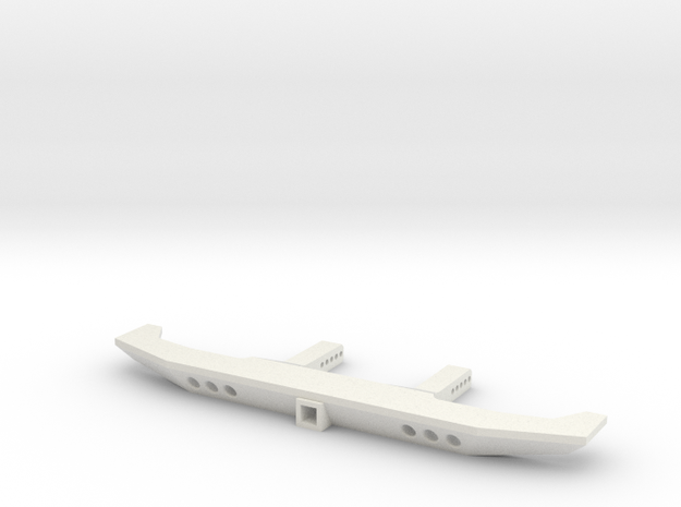 VS4-10 VS410 Rear Bumper Tow in White Natural Versatile Plastic