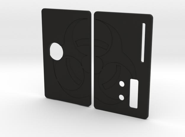 Sportello Billet Box Rev4  variante 11 in Black Natural Versatile Plastic