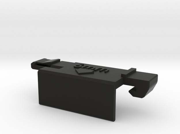 Kyosho Rocky Battery Holder (6mm wide) in Black Natural Versatile Plastic