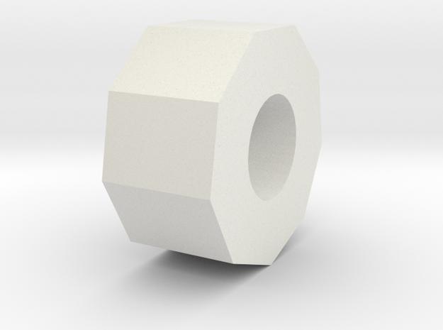 Rod cap of the Robot in White Natural Versatile Plastic