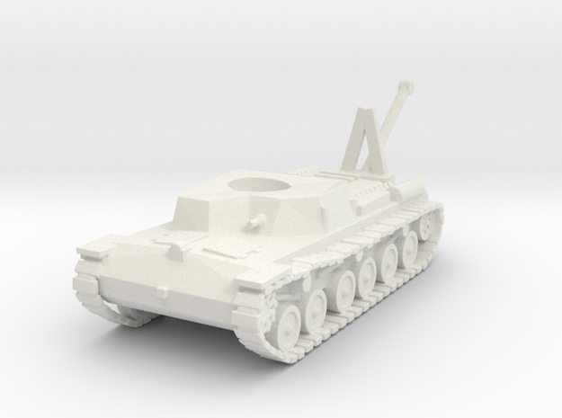 Japanese WWII SE-RI Recovery Tank 1/100 in White Natural Versatile Plastic