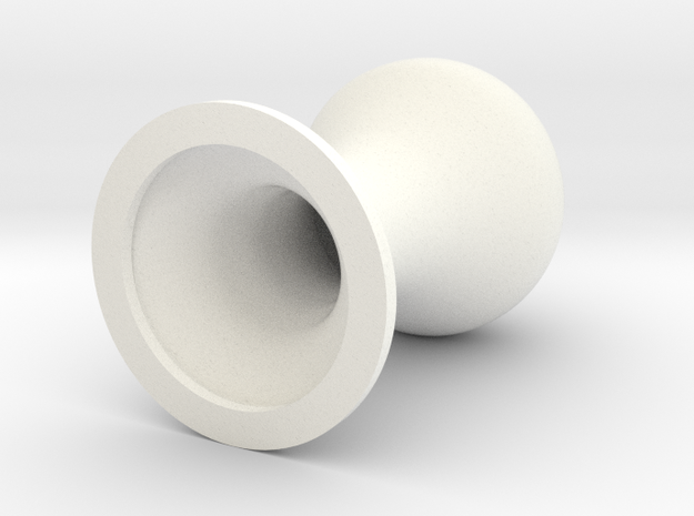 EQzer (22 mm wide) - FreeXperience in White Processed Versatile Plastic