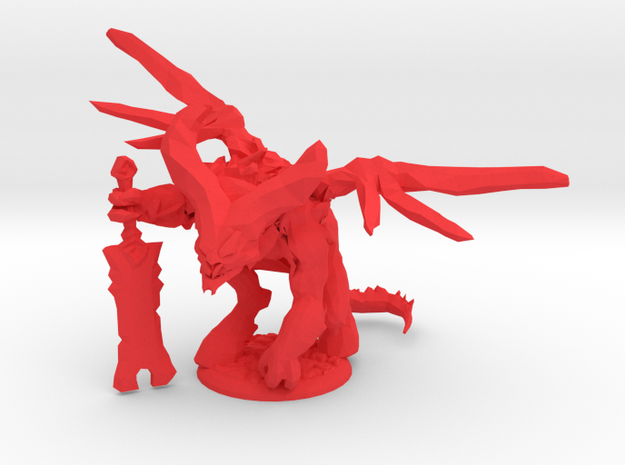 Lord of the pit  in Red Processed Versatile Plastic