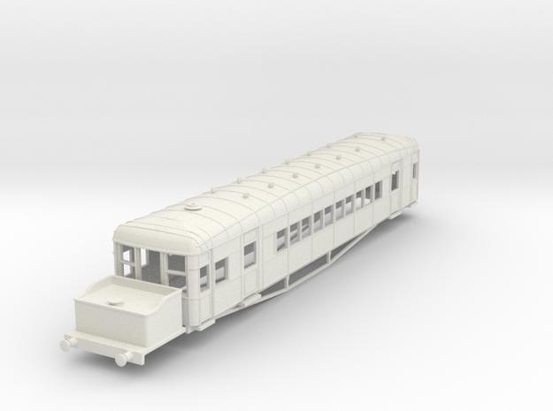 o-100-lner-clayton-steam-railcar-d91 in White Natural Versatile Plastic