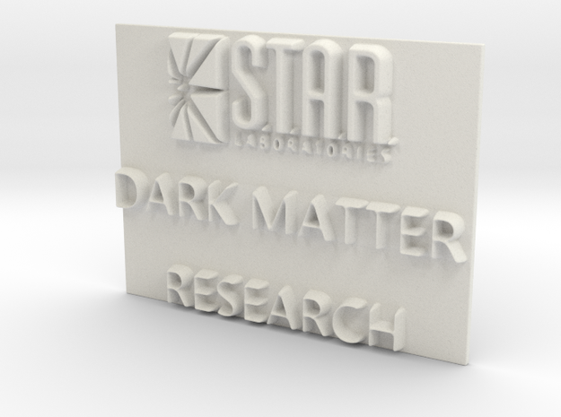 Star Labs, Dark Matter Research in White Natural Versatile Plastic: Extra Small